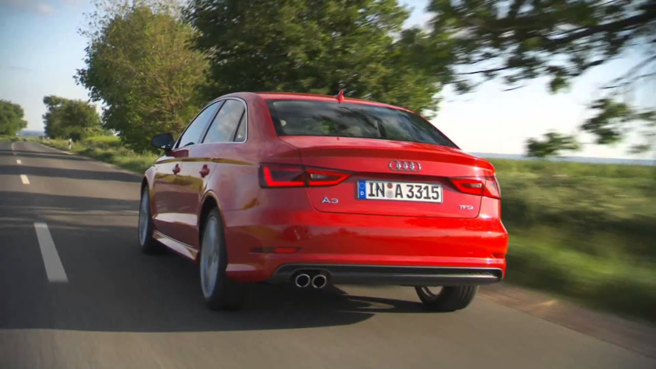 NEW Audi A3 Sedan Review - Misano Red