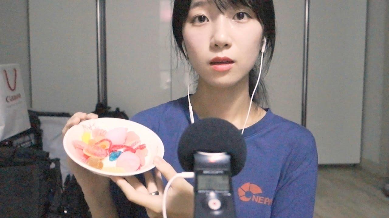 달콤한 젤리 이팅 사운드 ASMR Sweet Jelly Eating Sounds /Soft spoken Whisper