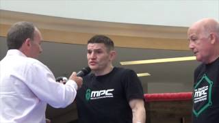 WILLIE LIMOND & PETER HARRISON TALK TO THE PUBLIC @ OPEN WORKOUT IN SCOTLAND / HISTORY IN THE MAKING