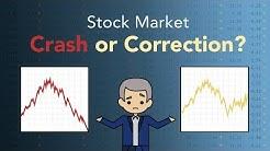 Stock Market Crash vs Correction | Phil Town