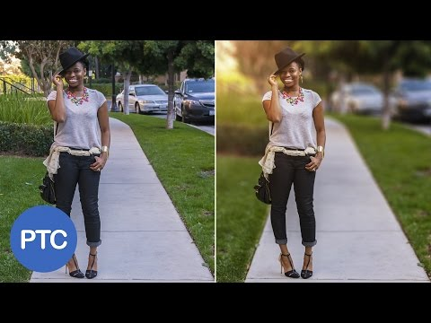 How To Blur Backgrounds In Photoshop - Shallow Depth of Field Effect Using Lens Blur