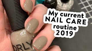 UPDATED Nail Care Routine - How I paint my nails & keep them strong (2019)