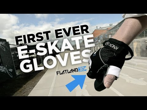 FIRST EVER E-Skate Glove by FlatLand3D