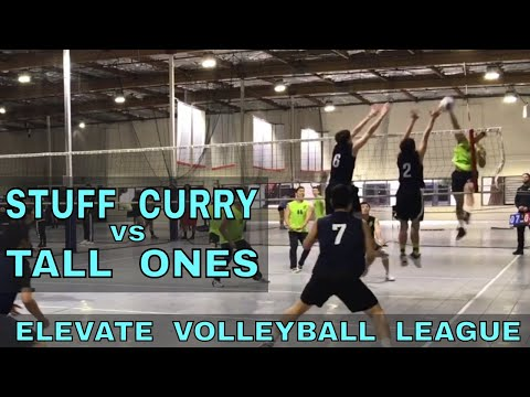 Stuff Curry vs Tall Ones - EVL #4, Pool Play - Match 1 (Elevate Volleyball League 2018)