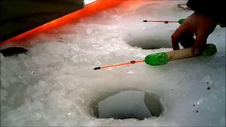 Зимняя рыбалка на озере Плещеево 02 2018. Видеоотчет