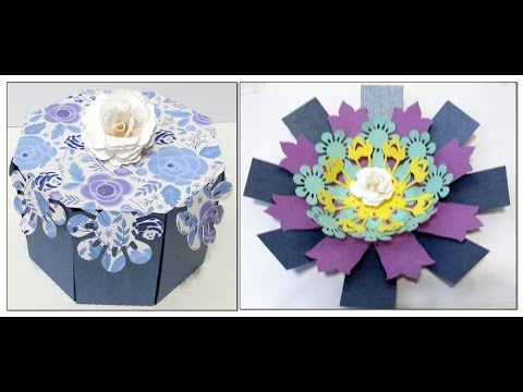 Create An Octagon Shaped Exploding Box Youtube