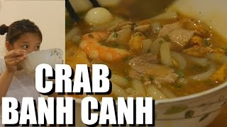 Vietnamese Food: BEST BANH CANH CUA in Saigon? Daily Vietnam Life Vlog #34