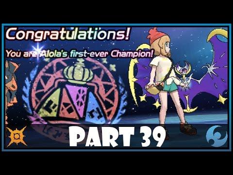 Pokemon Sun and Moon Part 39 - Every Elite 4 + Champion Battle!