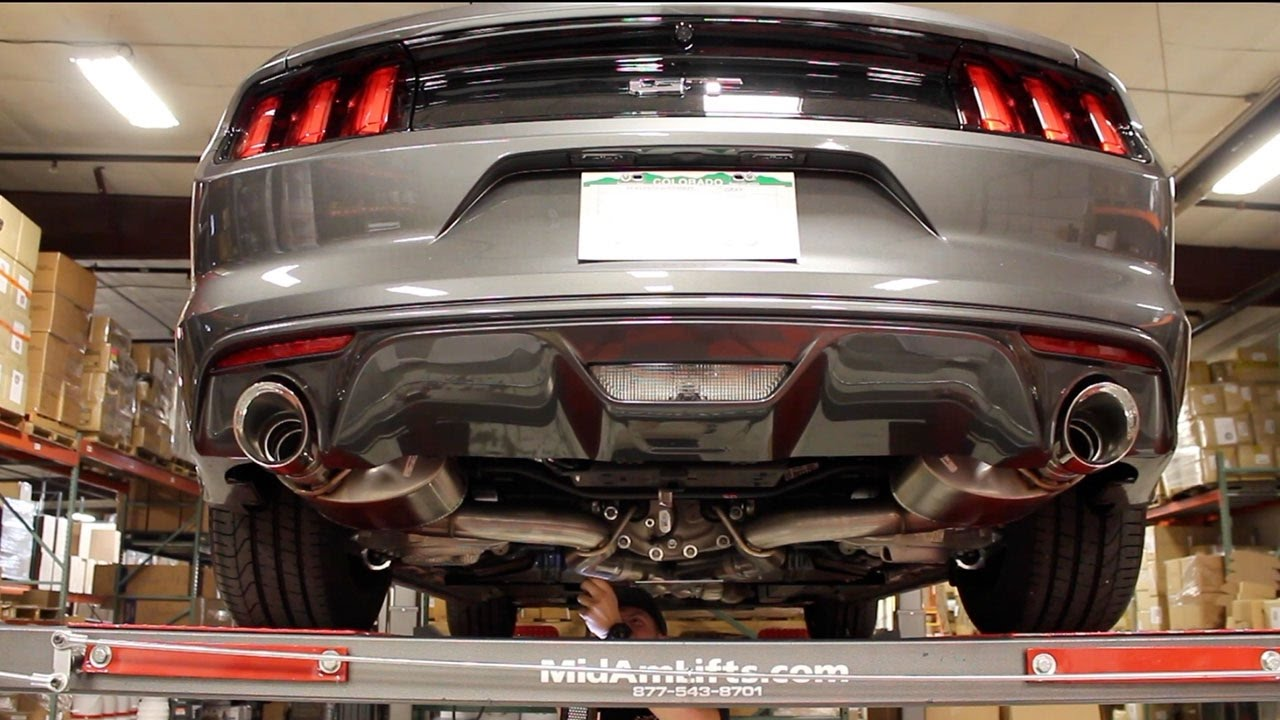 2017 mustang gt corsa extreme exhaust