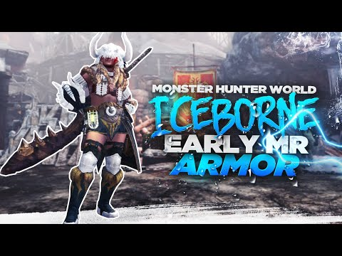 Monster Hunter World Iceborne - Early Master Rank Armor