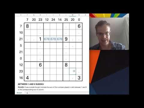 World Class Sudoku Solver Shares His Tricks!