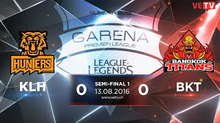 13082016 highlight klh vs bkt game 1 gpl summer 2016 semi-final
