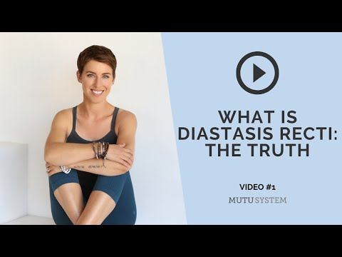 Diastasis Recti | The Truth | Part 1 | MuTu System Interview