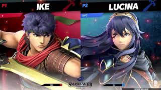 Smash-Web #21: Ichigo (Ike) vs KFC (Lucina) - LF Smash Ultimate