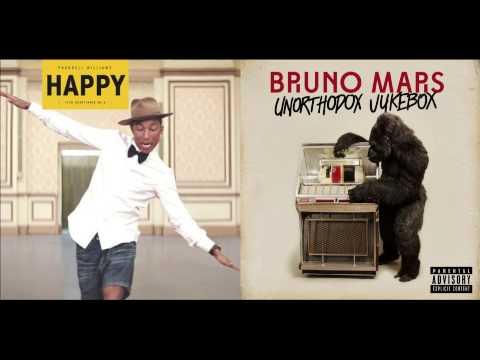 Locked Out Of Happiness (MASHUP) - Pharrell Williams vs. Bruno Mars