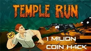 Temple Run PC 1,000,000,000 Coin