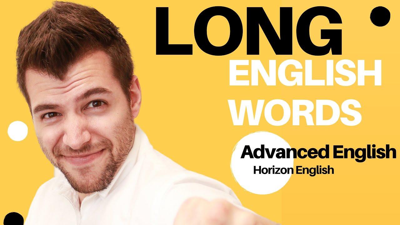 長い英単語で発音練習(上級)- Practice pronunciation of Long English Words (Advanced)