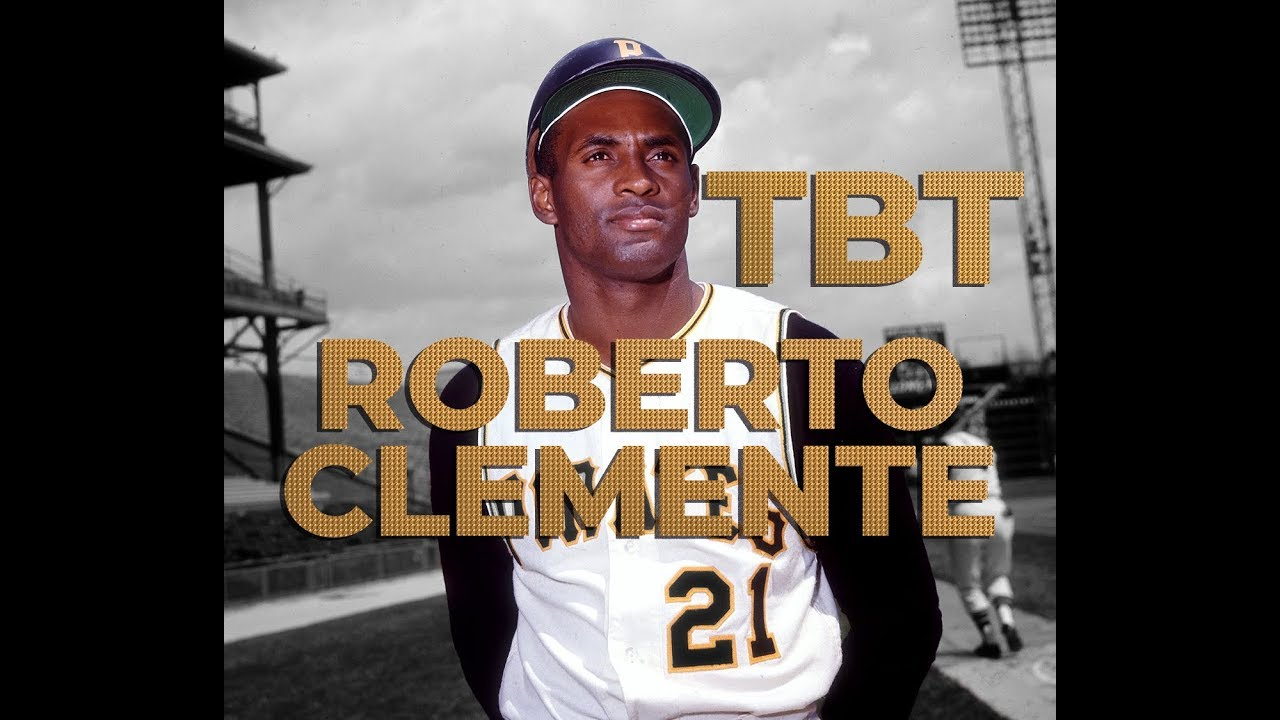 #TBT to the #GOAT Roberto Clemente