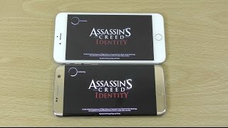 Galaxy S7 Edge vs iPhone 6S+ Assassin's Creed Identity - Gameplay Comparison!