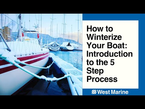 Winterizing Your Boat: Introduction to the 5 Step Process