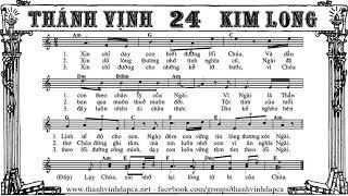 Thánh vịnh 24 - Kim Long - Chúa Nhật 26 A
