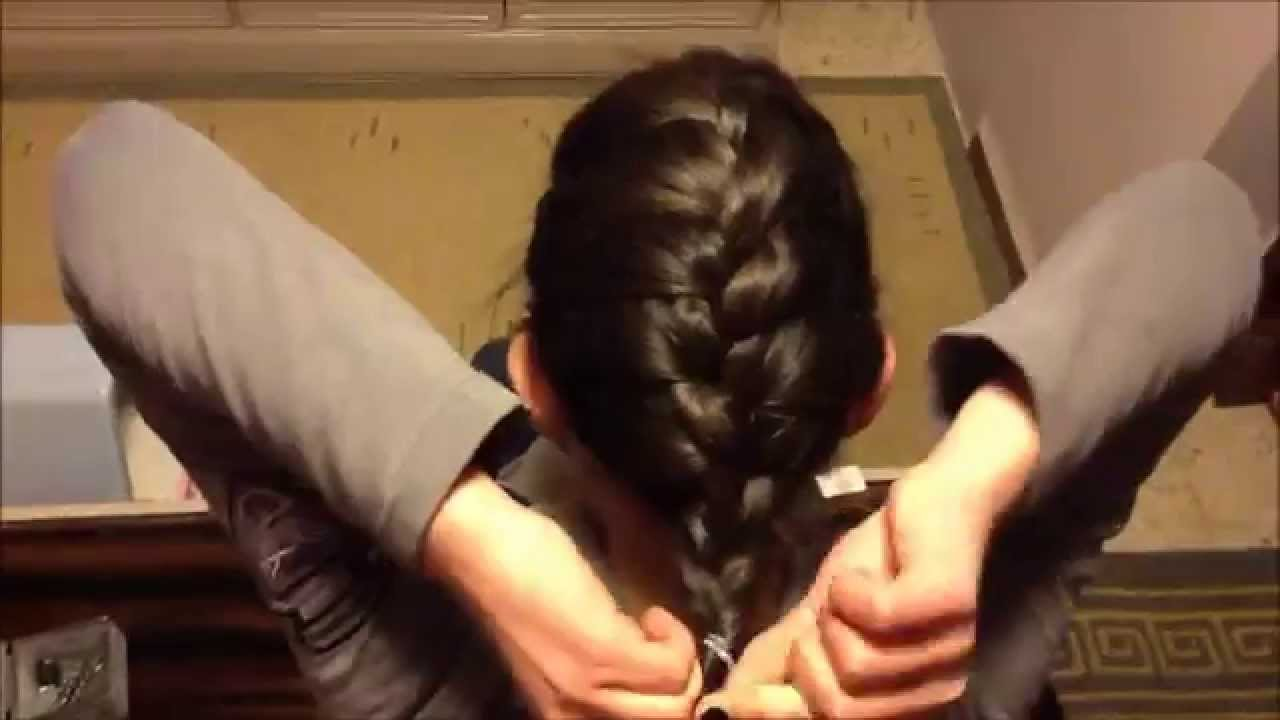 How To French Braid Short Layered Hair