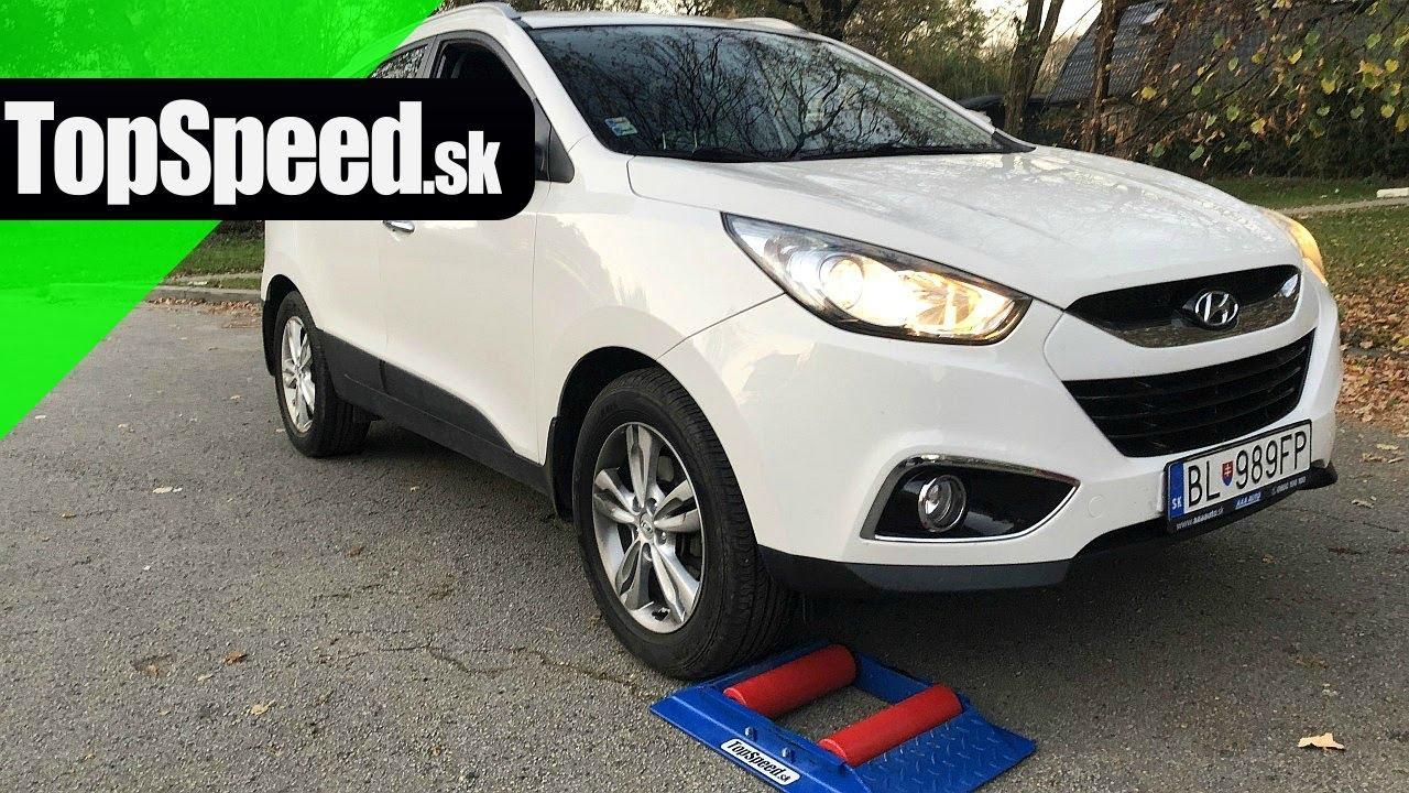 Hyundai Ix35 4x4 Test Topspeed Sk Youtube