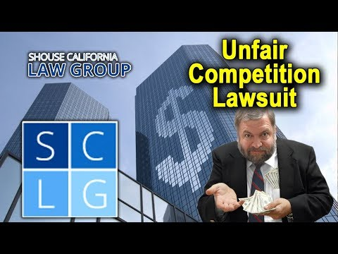 "California's ""Unfair Competition"" Law – (Business & Professions Code 17200 – 17209)"