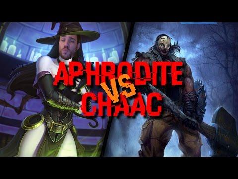 Aphrodite vs Chaac - Chat mouillé