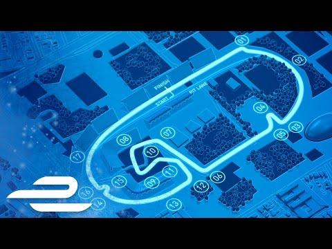 Julius Baer Mexico City ePrix Track Map - Formula E