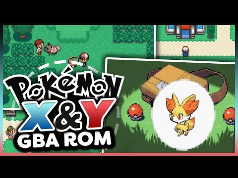 Pokémon X&Y in GBA!? - Pokemon X AND Y GAMEBOY Rom Hack Showcase