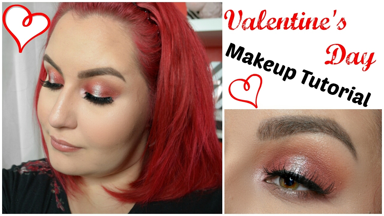 Red & Silver Halo Eye | Valentine's Day Makeup Tutorial 2017