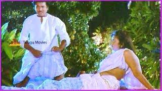 RajendraPrasad & Rambha Scene - In Aa Okkati Adakku Telugu Movie