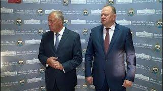 Сергей Митин и накануне занявший должность полпреда президента Николай Цуканов провели конференцию