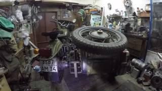 армейский мотоцикл урал 8.107
