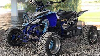 ATV VLOG #1 / Yamaha YFZ 600 RS / Попытки сделать ОСАГО. Ресо гори в .....
