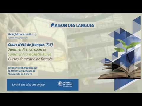 Summer french course at the University of Geneva