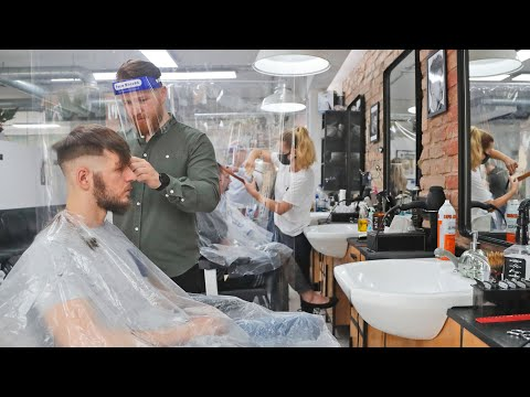 Ontarians rush to get haircuts as the province enters Stage 2