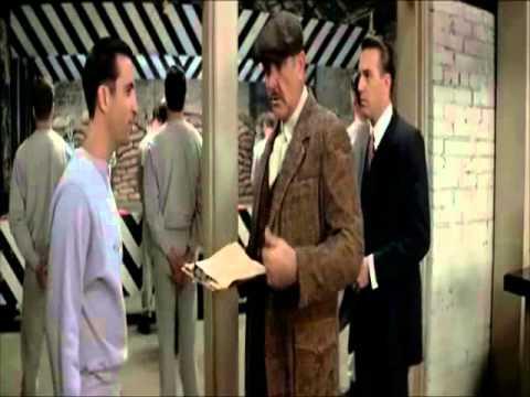 Los Intocables de Eliot Ness. Escena del reclutamiento de Giuseppe Petri (Andy García)