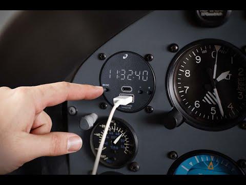 5 New Aircraft Digital Clocks
