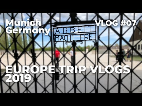 Munich, Germany | Travel Vlog #007 | April 24th, 2019