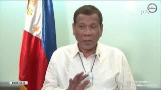 'Travel with me around PH,' Duterte tells Filipinos amid tourism slump over coronavirus fears