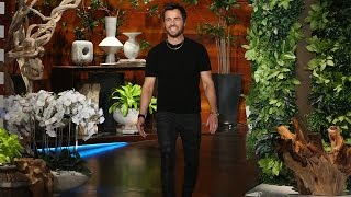 Justin Theroux on Wife Jennifer Aniston and His On-Set Injuries