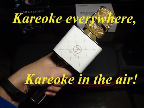 途讯K歌宝Q7 - TUXUN or TOSING Q7 Karaoke Bluetooth Microphone - Unboxing