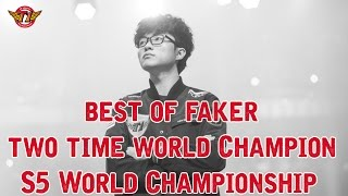 Best of Faker, Two time World Champion - S5 World Championship