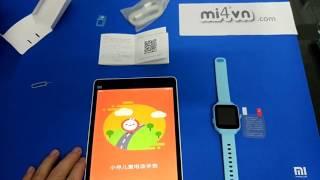 Mở hộp đồng hồ điện thoại trẻ em Xiaomi XiaoXun