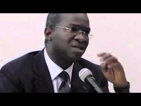 Babatunde Fashola takes questions at the London School of Economics