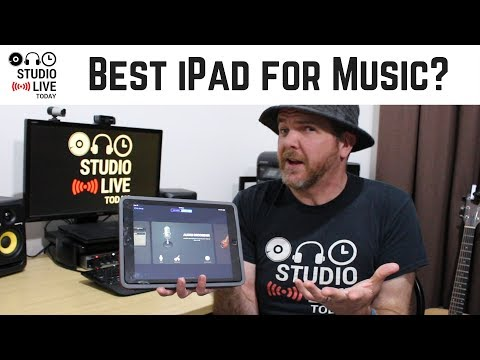What is the best iPad for creating music?