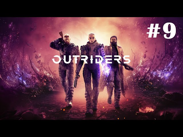 Outriders [Walkthrough Part 9] [No Commentary] [1440p] [Ultrawide] - Gameplay PC