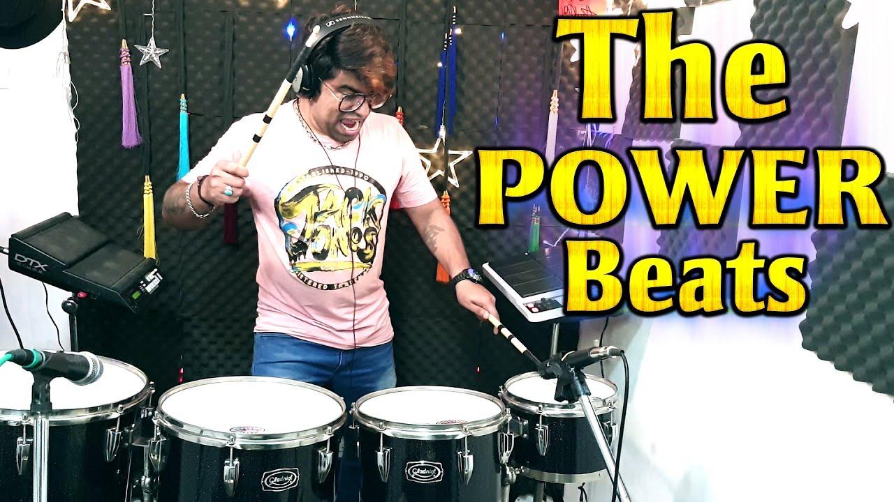 THE POWER BEATS | Drums | Full Bass | Octapad | Music | DJ | Janny Dholi